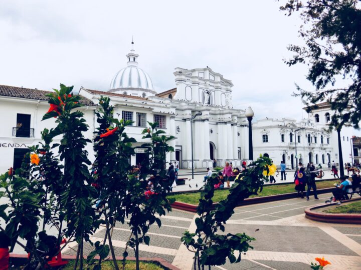 Parque Caldas in Colonial Poyayán Colombia; Colombia Travel Blog Inspirations